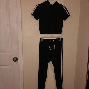 2 piece leggings set